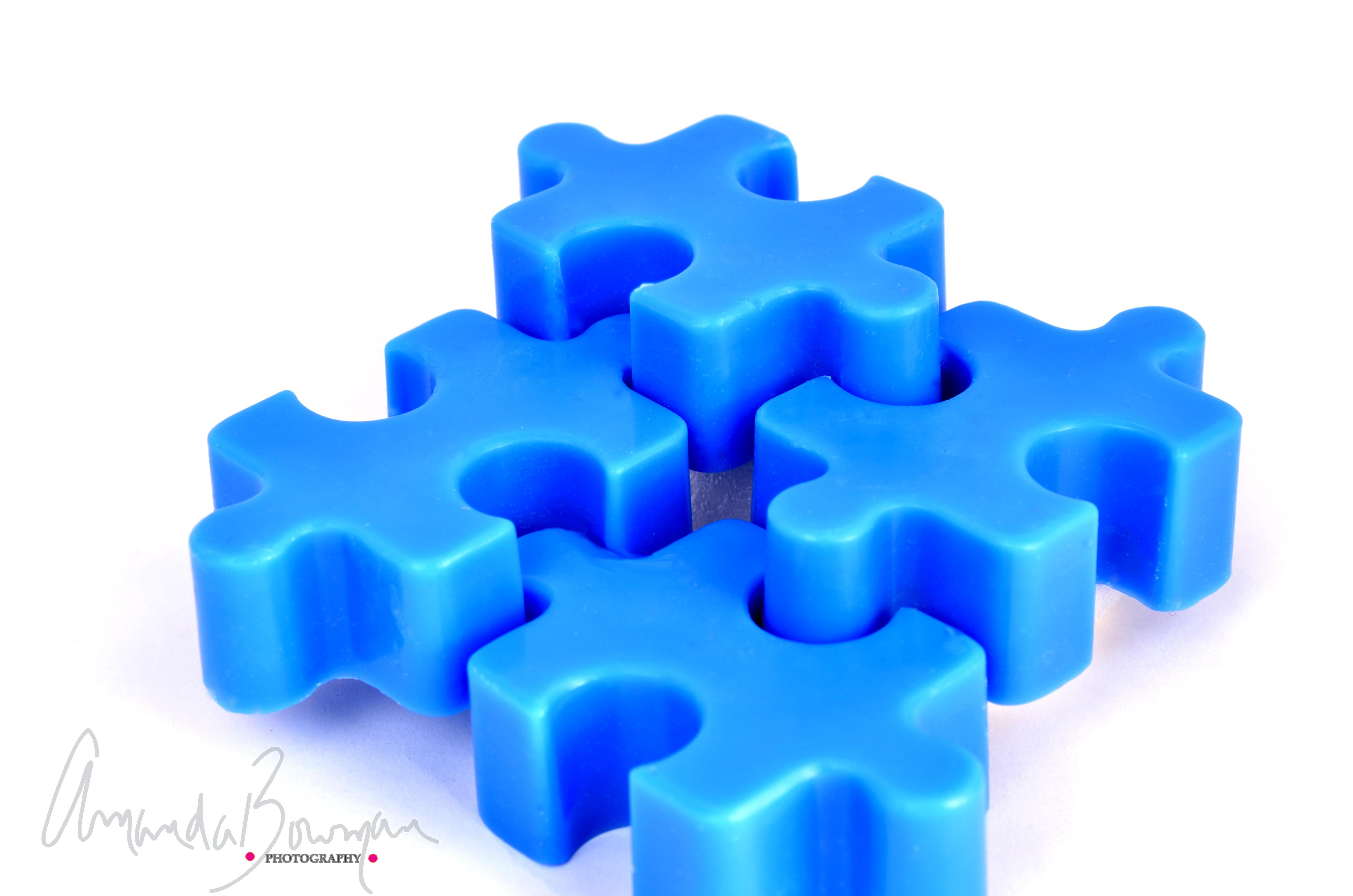 puzzle piece wax melts