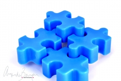 puzzle piece wax melts