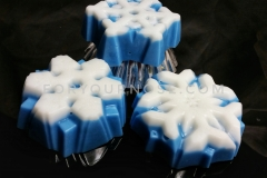 Holiday Wax Melts - Double Mint Marshmallow Sugar Cookie Snowflakes (RTS)