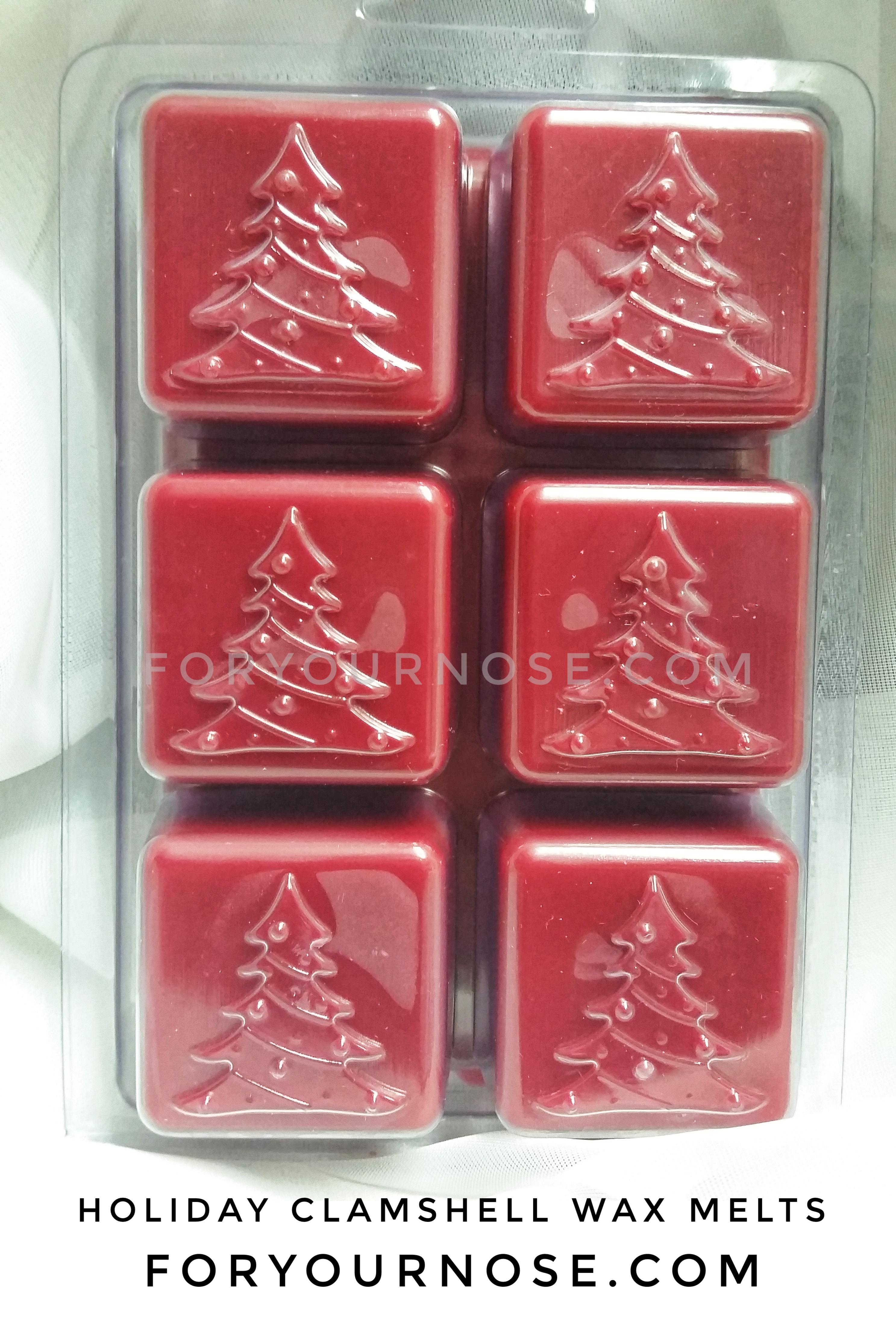Winter Holiday Clamshell Wax Melts - 6 oz. (Custom)