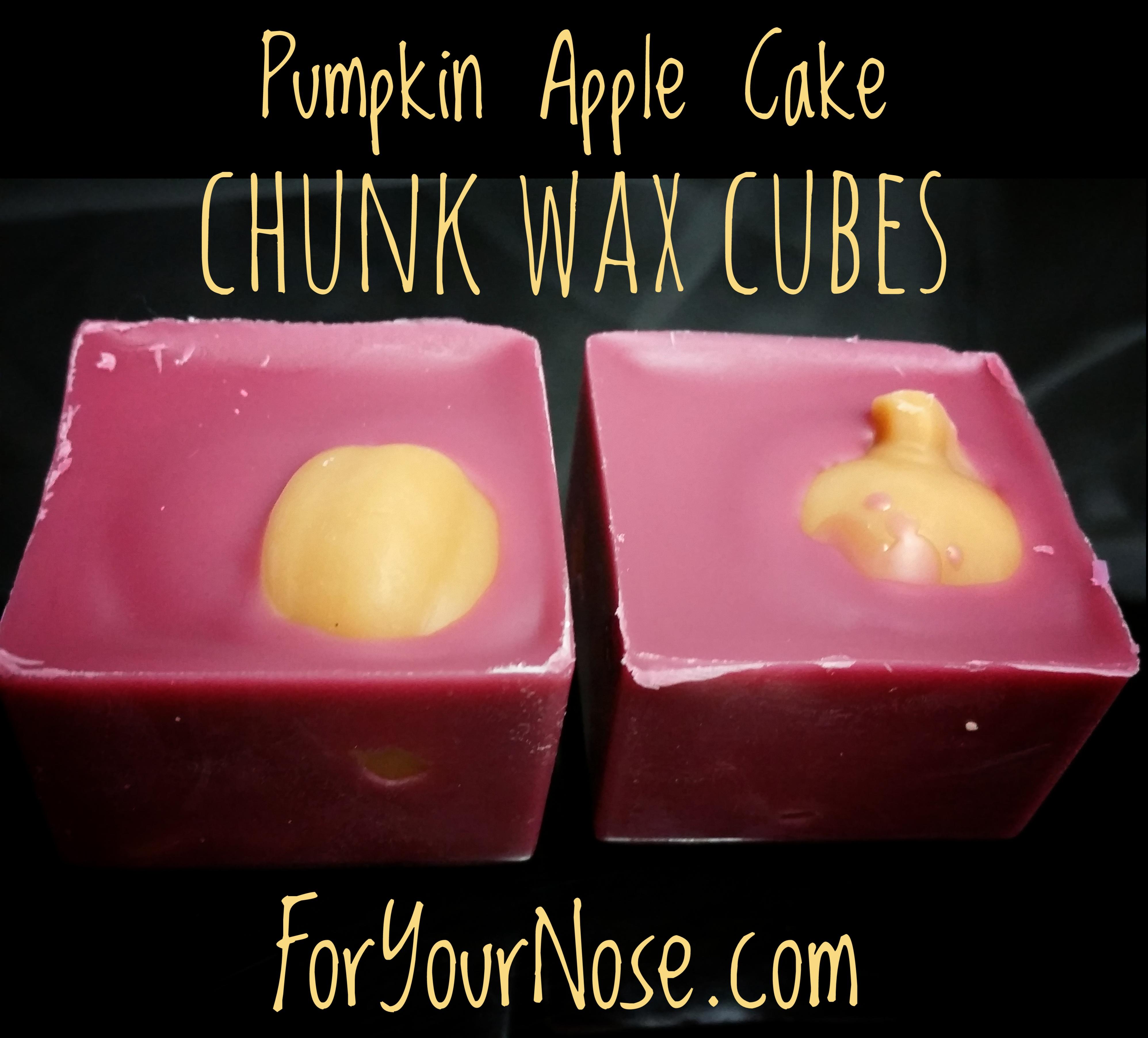 Pumpkin Apple Cake Chunk Wax Cubes
