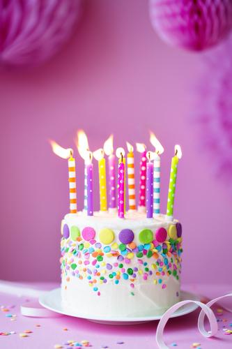 Birthday cake fragrance