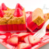 sliceable wax_strawberry cheescake
