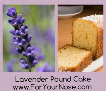 lavender pound cake fragrance