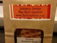 fall wax sampler bag