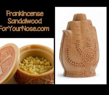 Frankincense Sandalwood fragrance