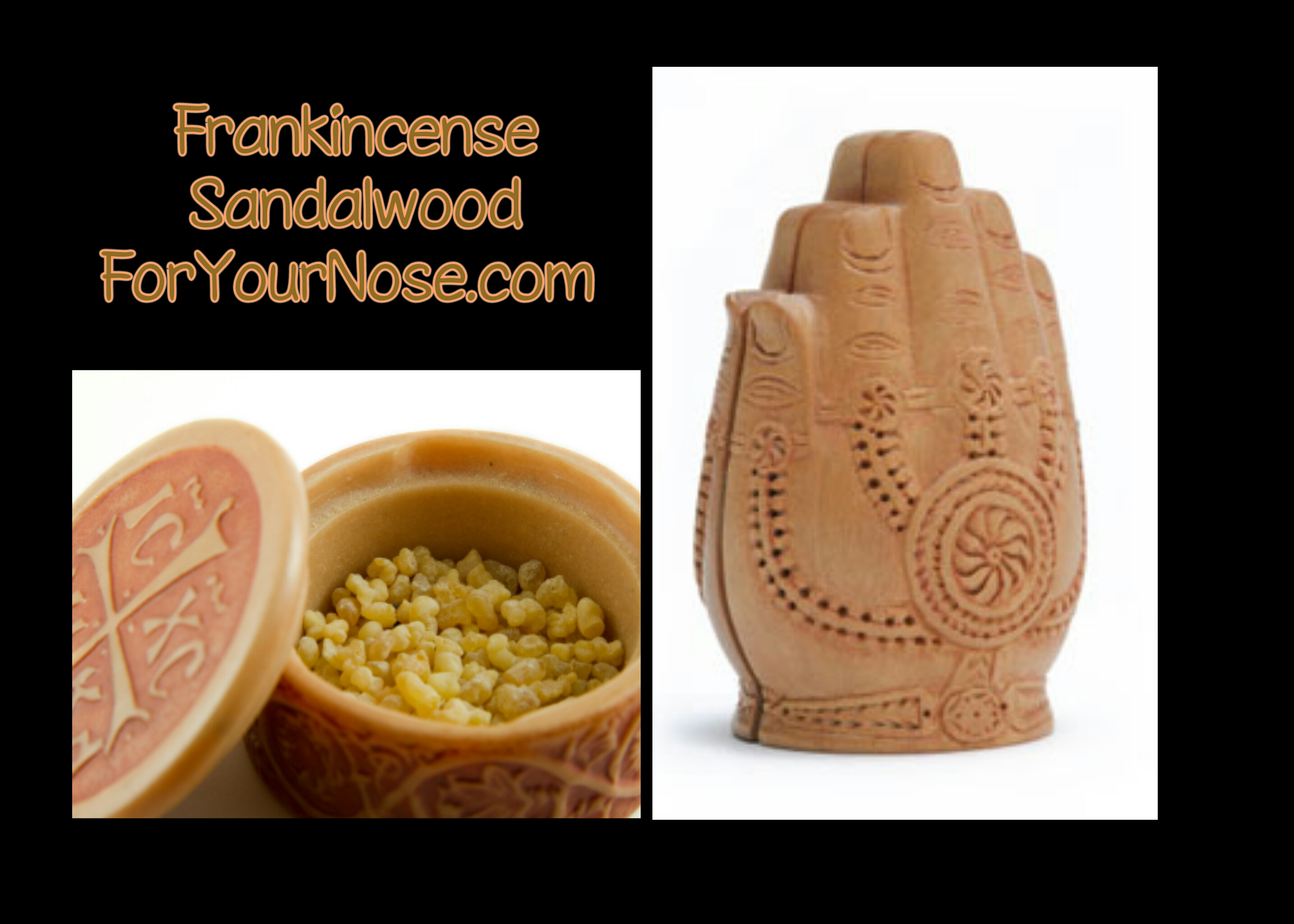 Frankincense Sandalwood fragrance