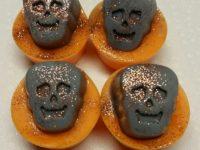 Halloween skull wax melts