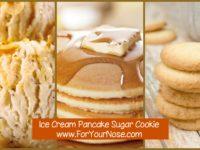 ice cream pancake sugar cookie fragrance