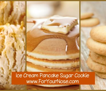 ice cream pancake sugar cookie fragrance