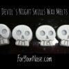 devils night wax melts