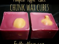 Pumpkin Apple Cake Chunk Wax Cubes