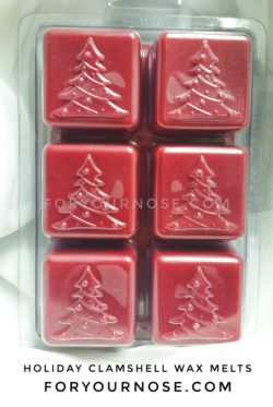 Winter Holiday Clamshell Wax Melts - 6 oz. (Custom)