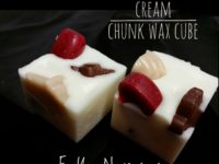 cinnamon mocha cream chunk wax cube
